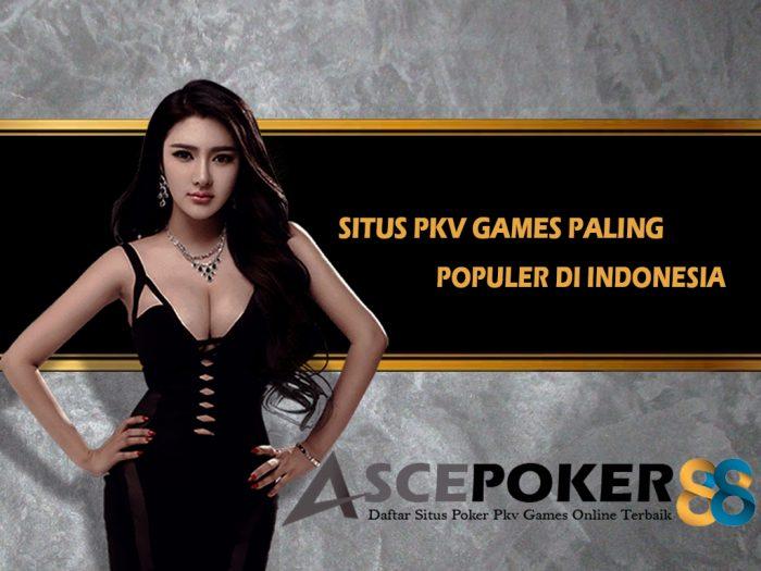 Situs Pkv Games Paling Populer di Indonesia Saat Ini
